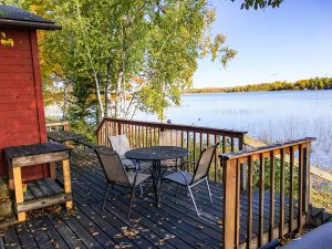 Deck lakeview