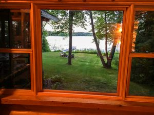 The_Log_Cabin_View_Of_The_Lake