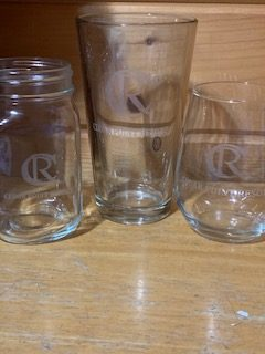 Glasses available at Cedar Point Resort
