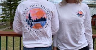 Cedar Point Resort long sleeve shirt