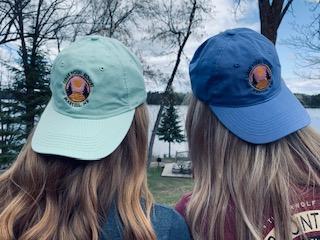 Cedar Point Resort blue hats on young girls