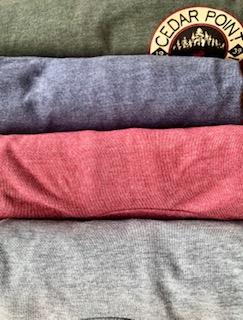 four shirts